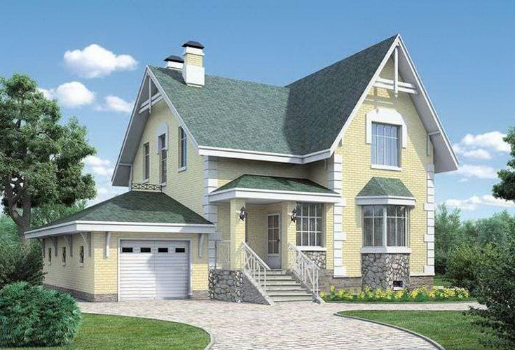 Проект дома 325 кв.м.