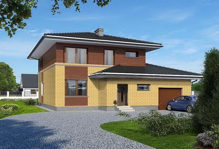 Проект дома 258 кв.м.